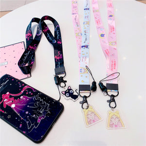 Kawaii Sailor Moon Phone Lanyard PN1149