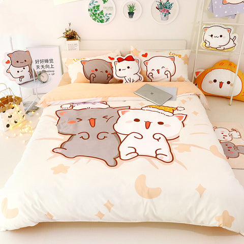 Lovely Cats Bedding Set PN1331