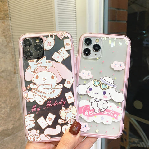 Lovely Cinnamoroll Phone Case for iphone 6/6s/6plus/7/7plus/8/8P/X/XS/XR/XS Max/11/11pro/11pro max PN2484