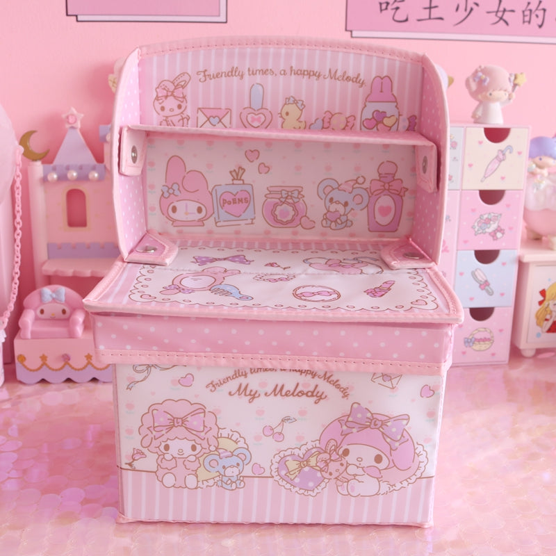 Cartoon Little Twin Stars Folding Storage Box PN2128