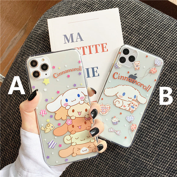 Lovely Cinnamoroll Phone Case for iphone 7/7plus/8/8P/X/XS/XR/XS Max/11/11pro/11pro max PN2020