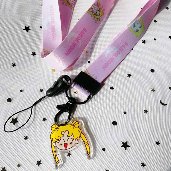 Luna and Artemis Phone Lanyard PN1981