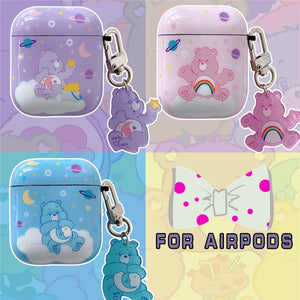 Cute Bear Airpods Case For Iphone PN2830