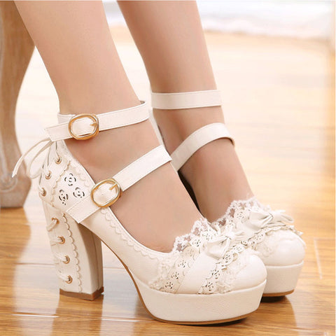 Fashion Lolita High-heeled Shoes PN2831