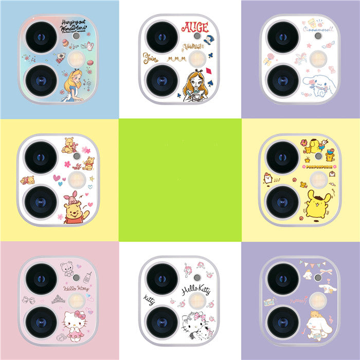 Cartoon phone Lens Sticker for Iphone 11/11pro/11pro max PN2490