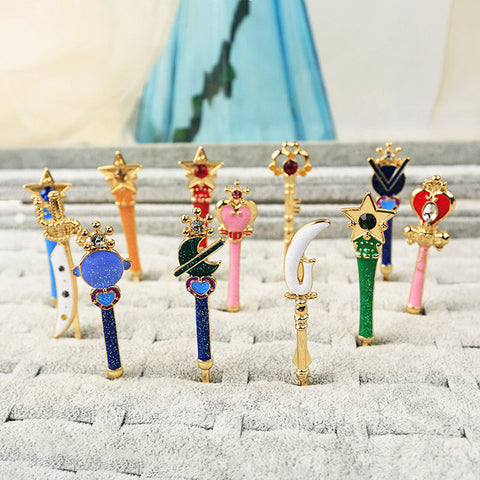 Cartoon Sailormoon Crystal Hair Clip PN1886