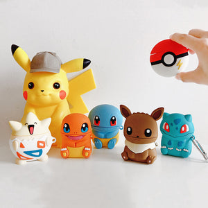 Lovely Pokemon Airpods Case For Iphone PN1836