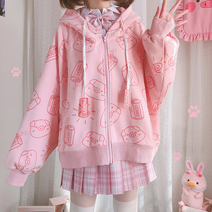 Lovely Pig Coat PN3559