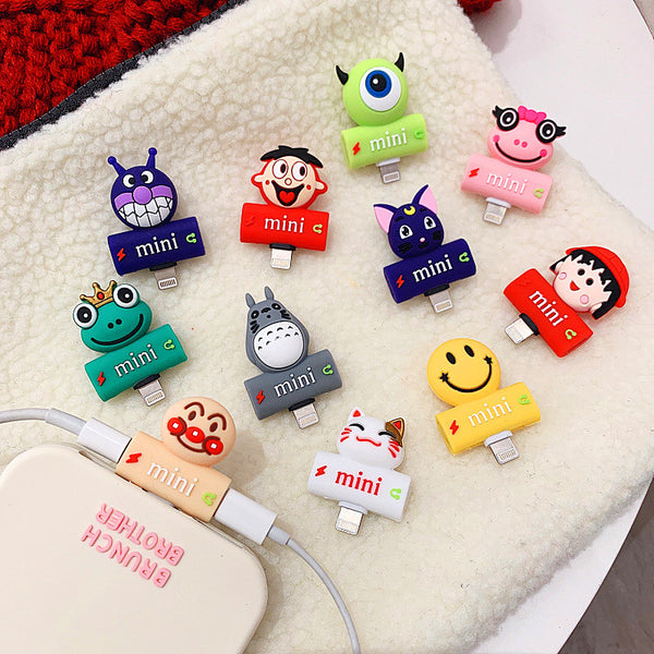 Luna And Totoro Earphone Wire Adapter For Iphone PN0784