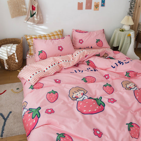 Strawberry Girl Bedding Set PN2861