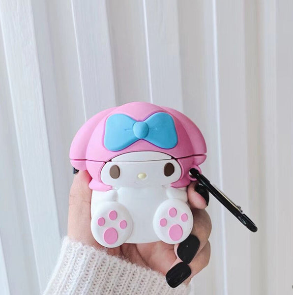 Lovely Mymelody Airpods Case For Iphone PN2011