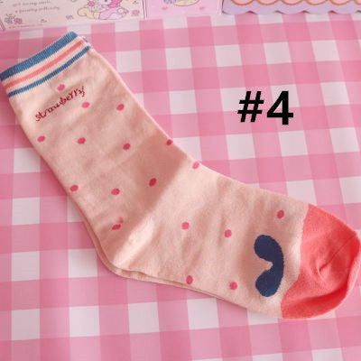 Cute Strawberry Socks PN2145