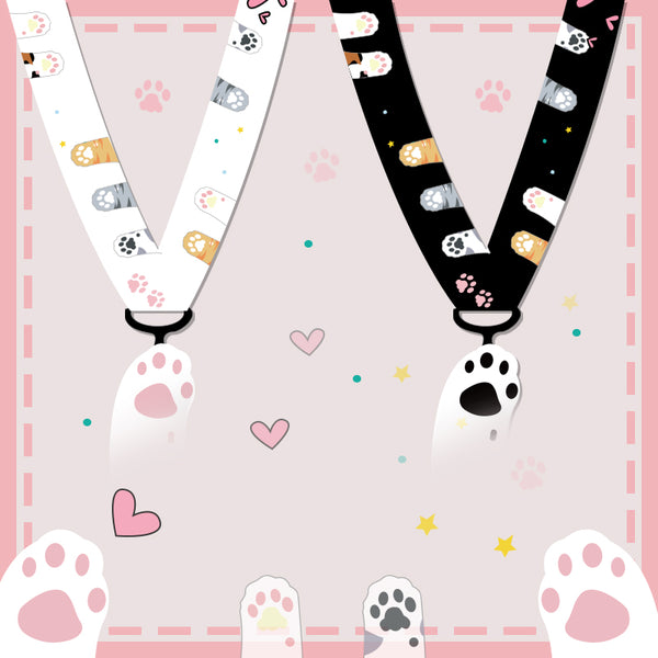 Lovely Cats Paws Phone Lanyard PN1319