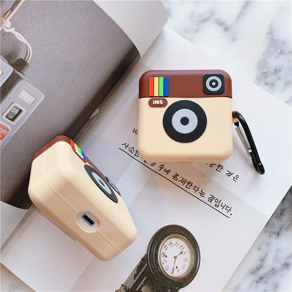 Cute Instagram Airpods Case For Iphone PN1482
