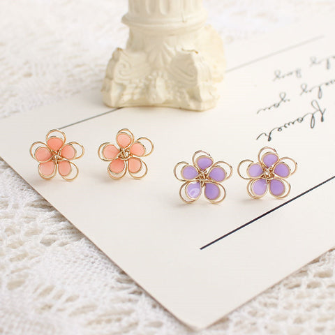 Sakura Flower Earrings/Clips PN3570