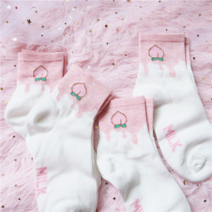 Fashion Peaches Socks PN1464