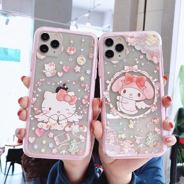 Cartoon Phone Case for iphone 6/6s/6plus/7/7plus/8/8P/X/XS/XR/XS Max/11/11pro/11pro max PN2282