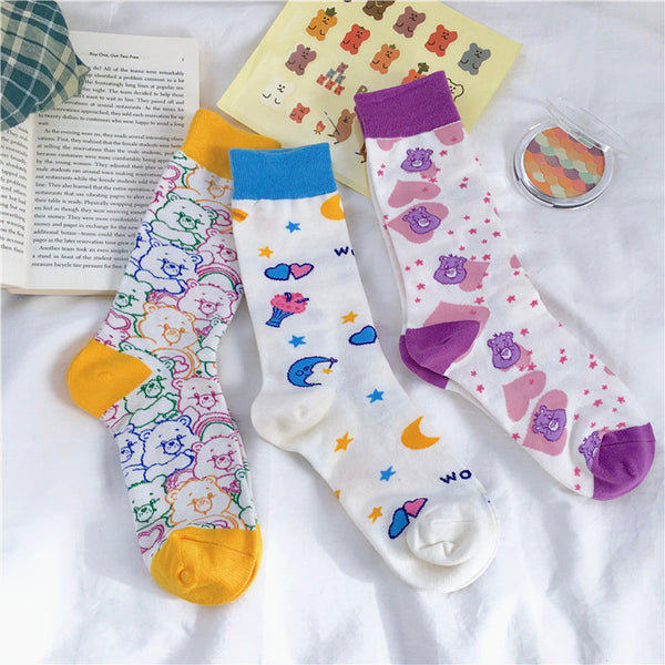Cartoon Bear Socks PN1832