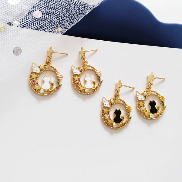Lovely Cat Earrings PN2218