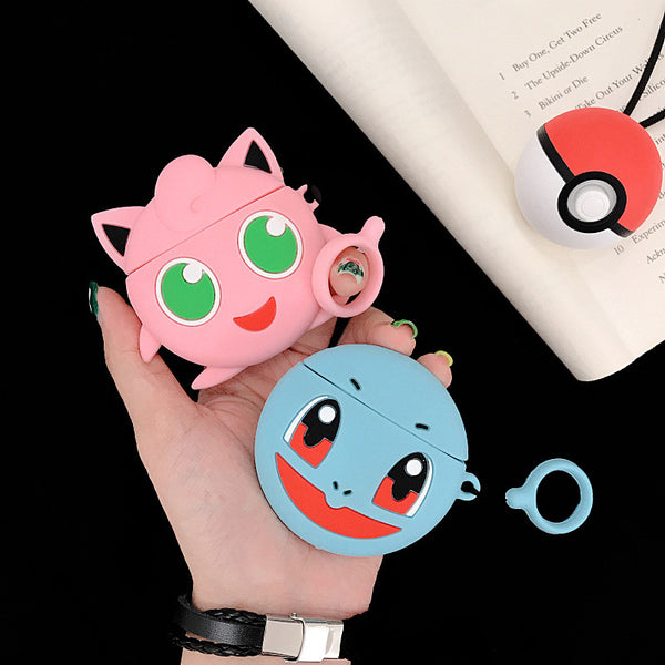 Cute Jigglypuff and Squirtle Airpods Case For Iphone PN1585