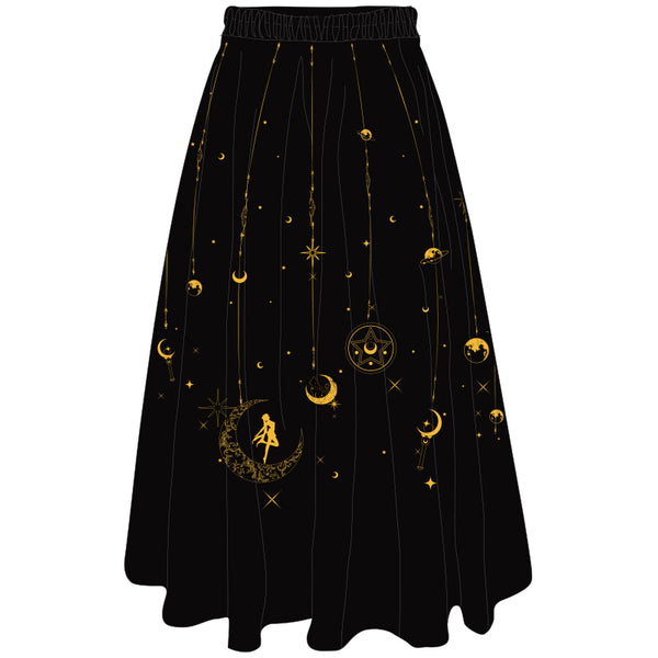 Fashion Sailormoon T-shirt And Chiffon Skirt PN1719