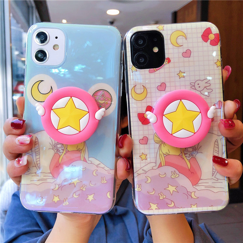 Cartoon Usagi Phone Case for iphone 6/6s/6plus/7/7plus/8/8P/X/XS/XR/XS Max/11/11pro/11pro max PN2269