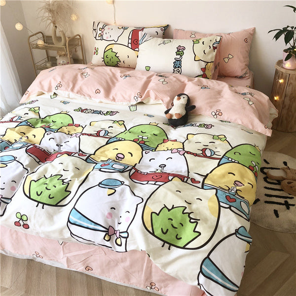 Cartoon Sumikkogurashi Bedding Set PN2292