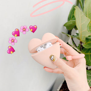 Love Heart Airpods Case For Iphone PN1309