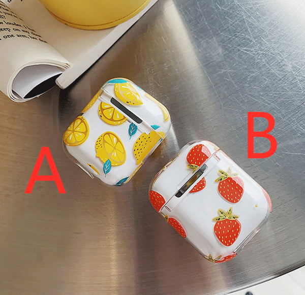 Strawberry Airpods Case For Iphone PN1457