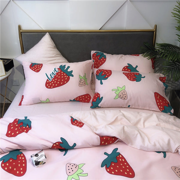 Fashion Strawberry Bedding Set PN1564