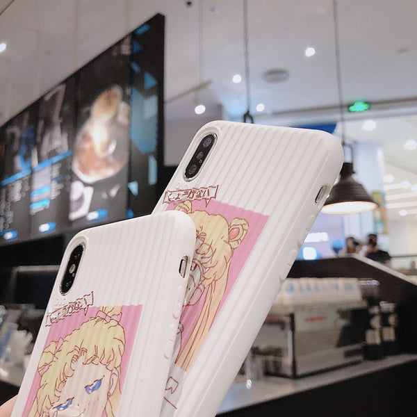 New Style Sailormoon Phone Case for iphone 6/6s/6plus/7/7plus/8/8P/X/XS/XR/XS Max PN1701