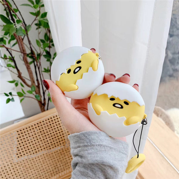 Lovely Gudetama Airpods Case For Iphone PN2401