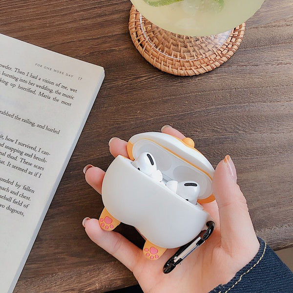 Lovely Corgi Ass Airpods Case For Iphone PN2163