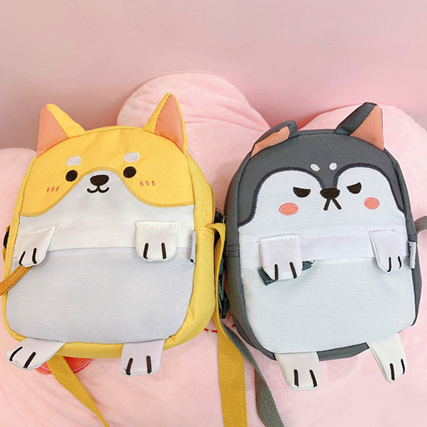 Cute Husky Shoulder Bag PN1658