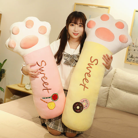 Lovely Cat Paw Hold Pillow PN3167