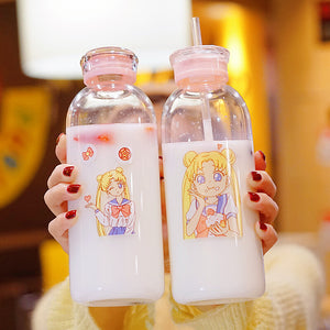 Sailor Moon New Water Glass Cups PN2556