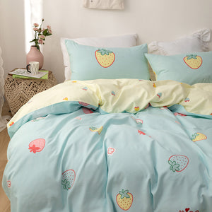 Cute Strawberry Bedding Set PN2906