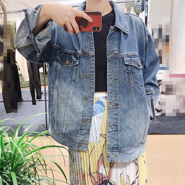 Fashion Sailormoon Jeans Coat PN1599