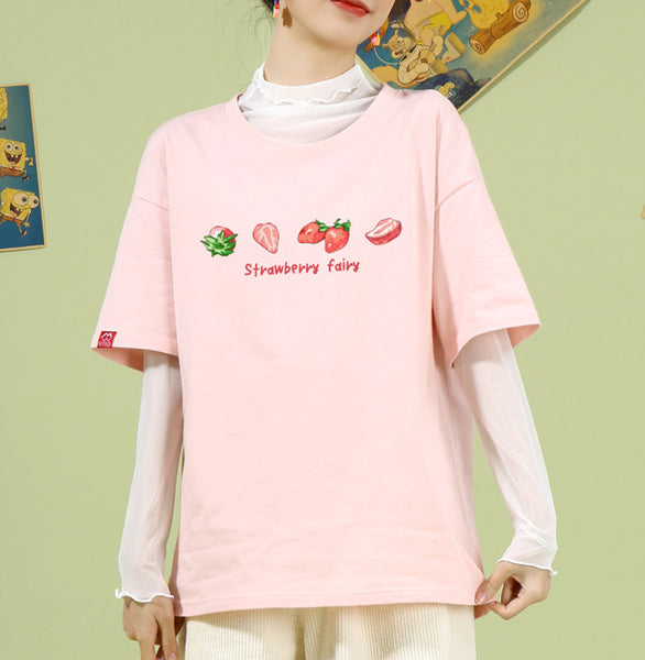 Sweet Strawberry Lover Tshirt PN2686