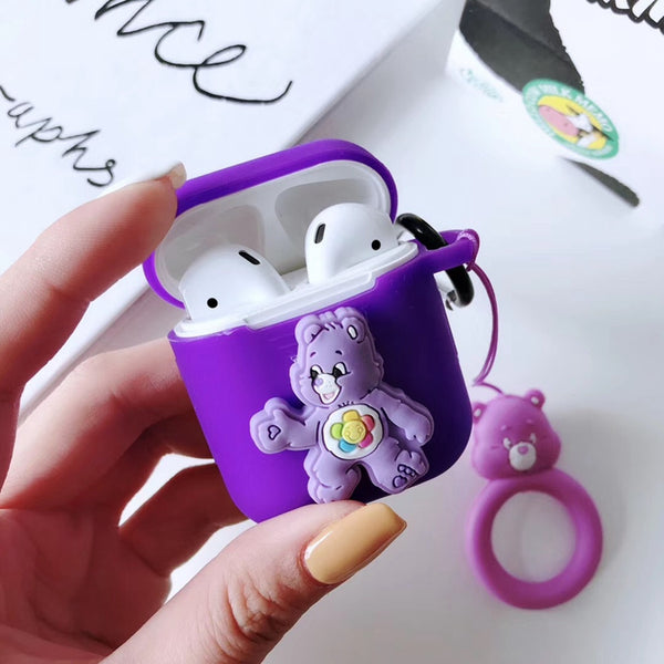 Colorful Bear Airpods Case For Iphone PN1670