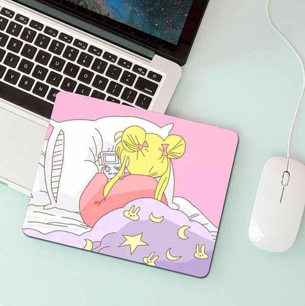 Cute Girl Mouse Pad PN2622