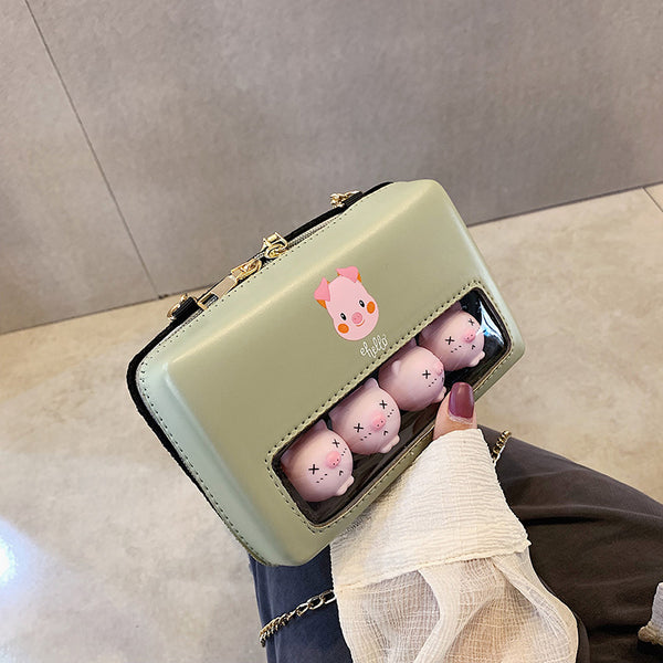 Kawaii Pigs Shoulder Bag PN2350