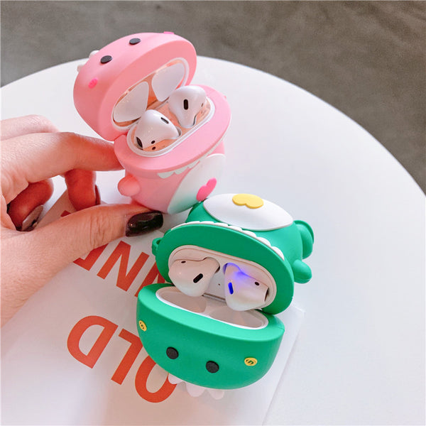 Cute Dinosaur Airpods Case For Iphone PN1627