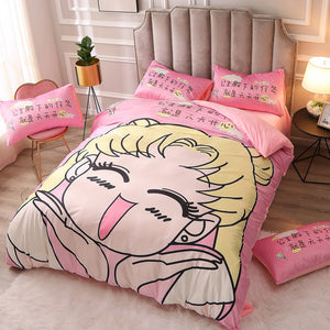 Happy Usagi Bedding Set PN2213