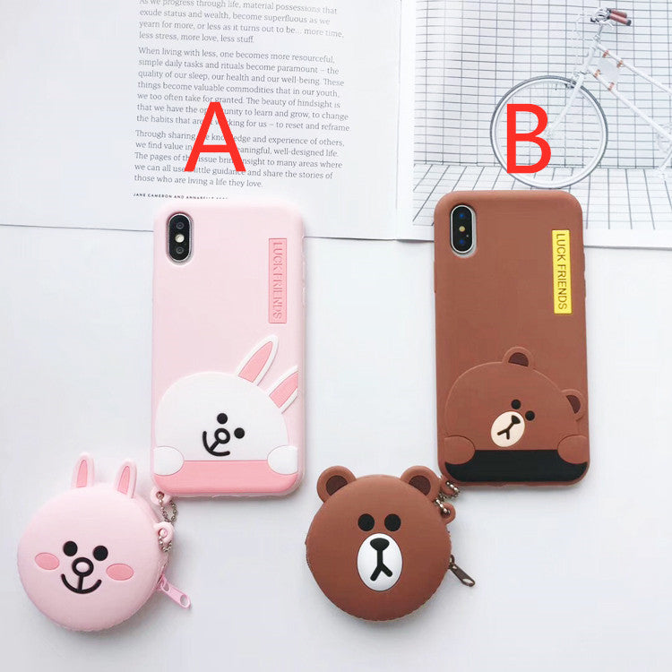 Lucky Friends Phone Case for iphone 6/6s/6plus/7/7plus/8/8P