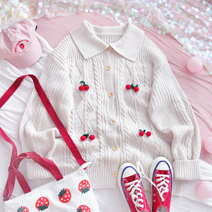 Fashion Sweet Sweater Knitted Coat PN2318