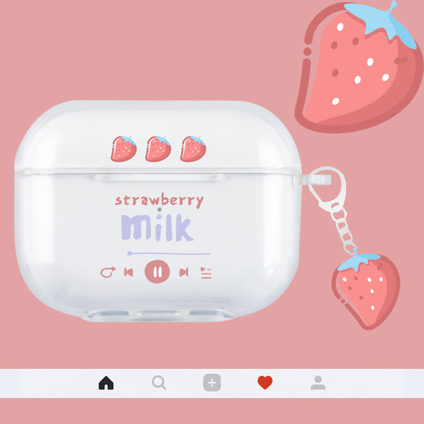Strawberry and Watermelon Airpods Case For Iphone PN2872