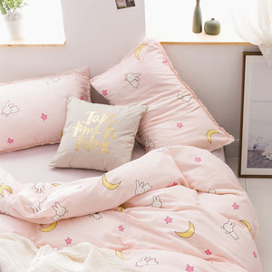 Cute Bunny Moon Bedding Set PN3889