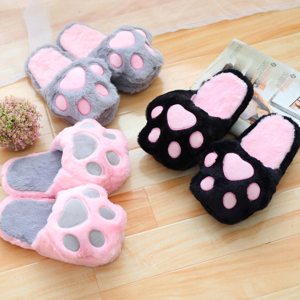Kawaii Cats Paw Slippers PN0759