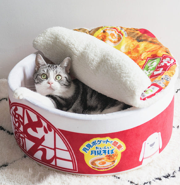 Lovely Ramen Cat House PN3639